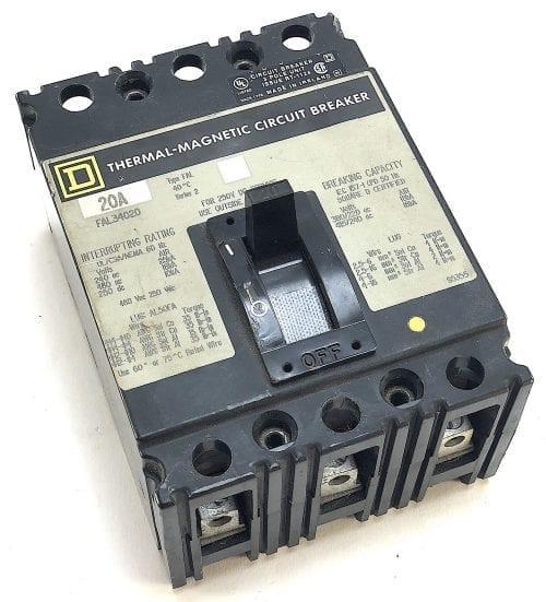 Square D FAL34020-GL