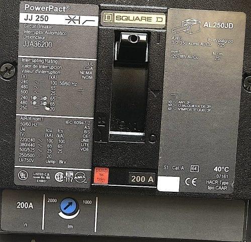 Square D JJA36200