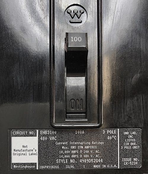 Westinghouse EHB3100