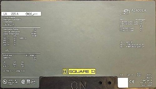 Square D LA36225-CL