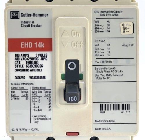 Cutler Hammer EHD3100