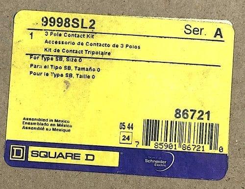 Square D 9998-SL2-NIB
