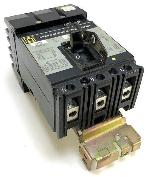 Square D FA36100-GL