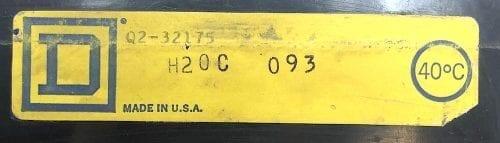 Square D Q232175-BF