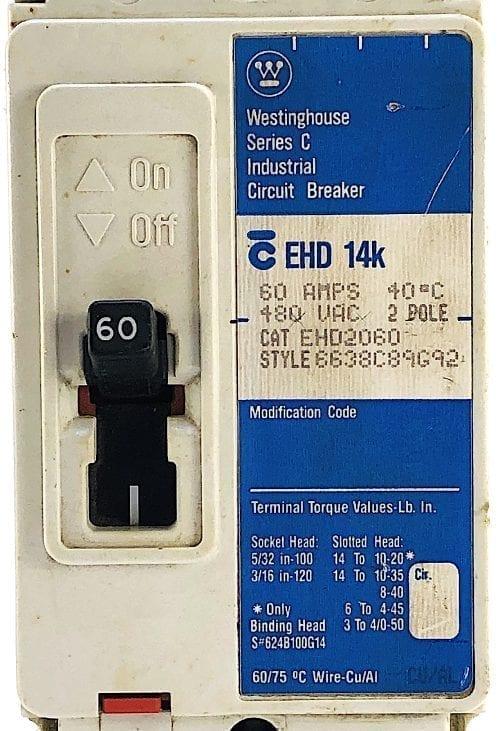 Westinghouse EHD2060-BL