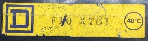 Square D FA32060-BF