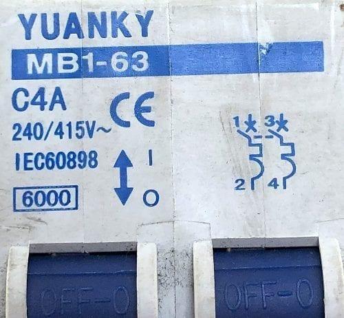 YUANKY MB1-63