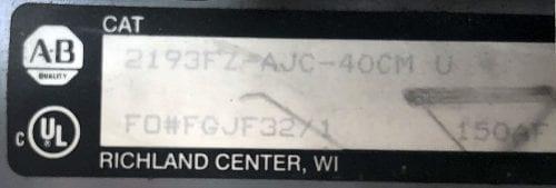 Allen Bradley 2193FZ-AJC-40CM