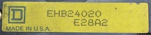Square D EHB24020