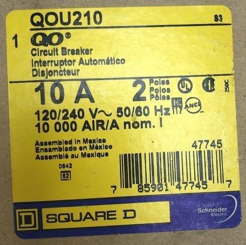 Square D QOU210-NIB