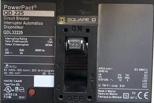 Square D QDL32225