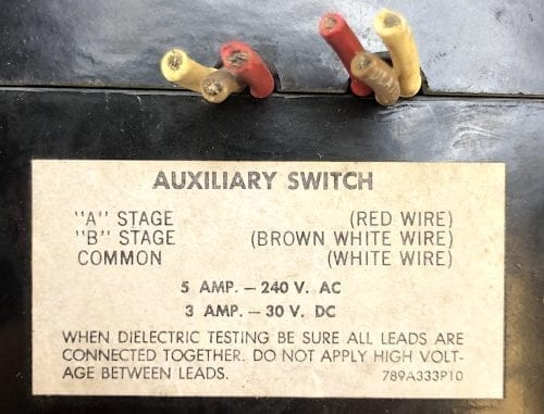 General Electric TFK236F000-100-AUX-ST