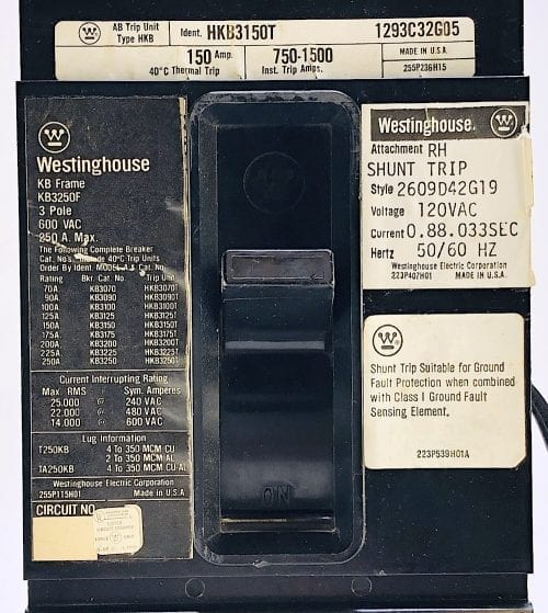 WestinghouseKB3250F-150-ST