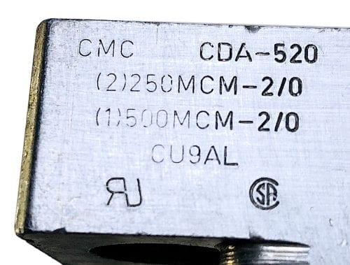 CMC CDA-520-Set of 3