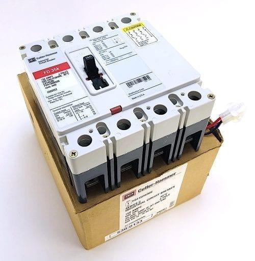 Cutler Hammer FD4150WA06-AUX-NIB