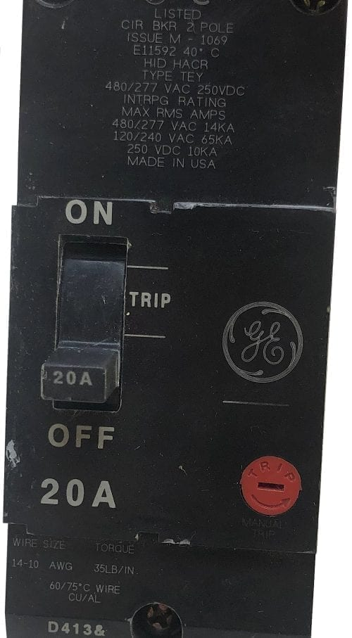 General Electric TEY220