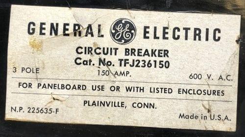 General Electric TFJ236150-150-BF
