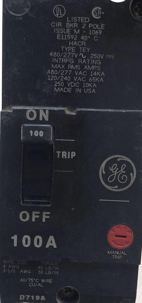 General Electric TEY2100