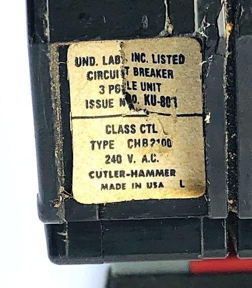 Cutler Hammer CHB3100-LS