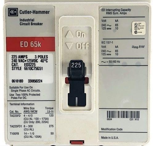 Cutler Hammer ED3225-RL