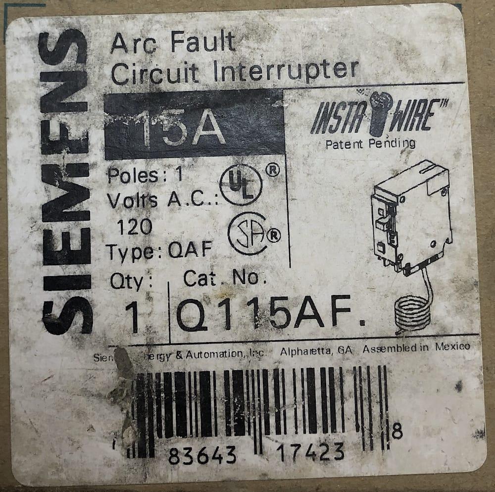 Siemens Q115AF-NIB