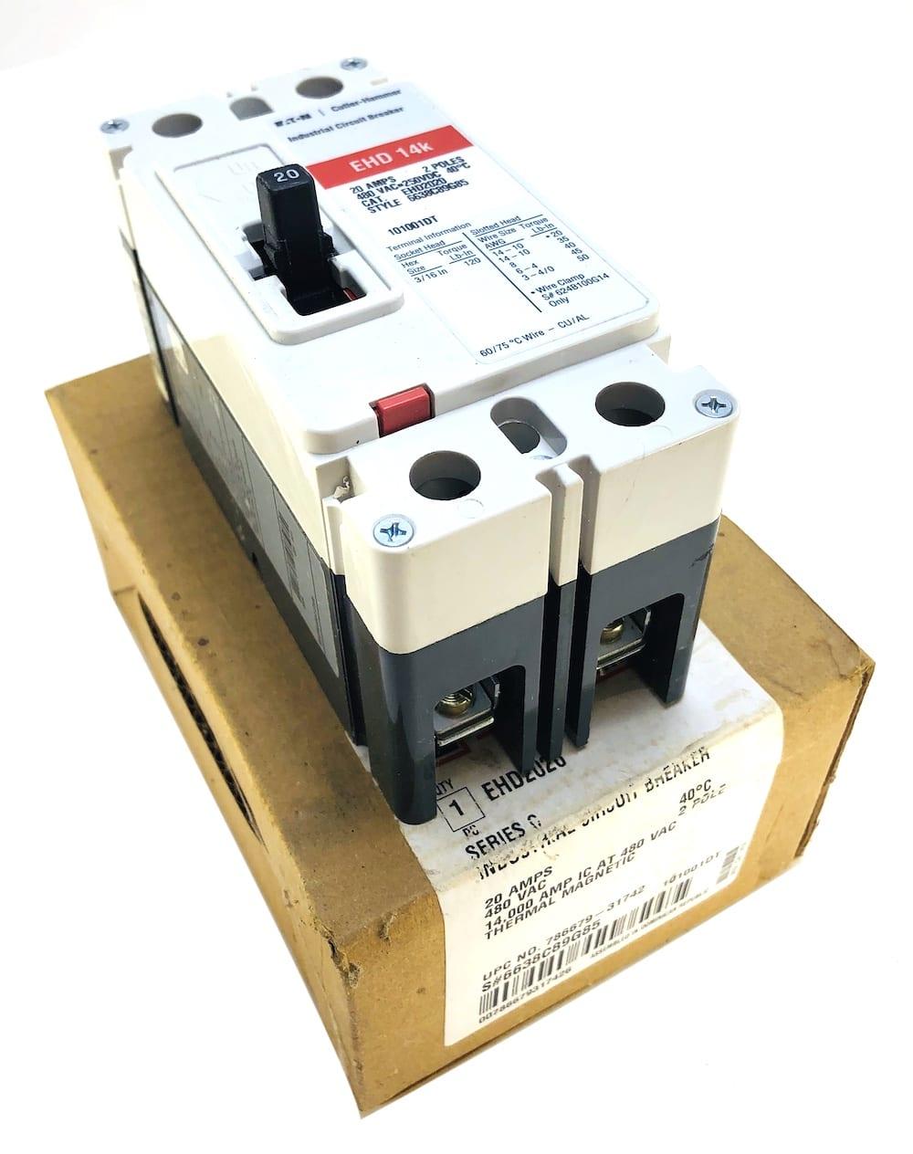 Eaton Cutler Hammer EHD2020-NIB
