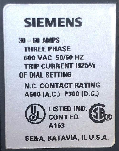 Siemens 48BSJ3M20
