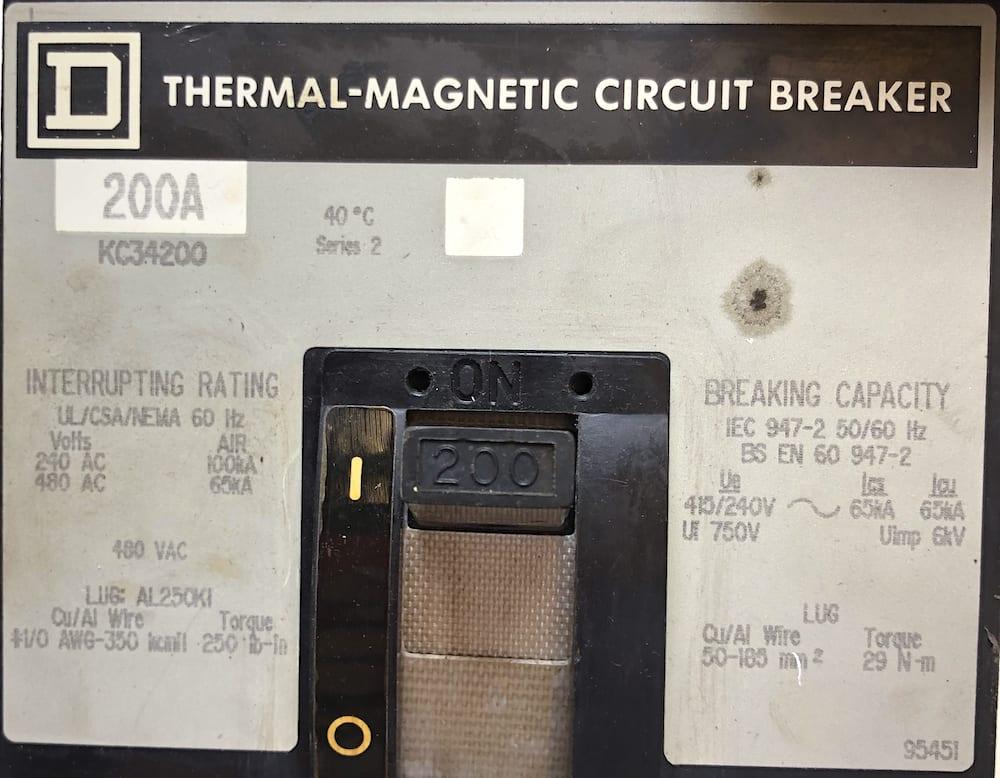 Square D KC34200-GL