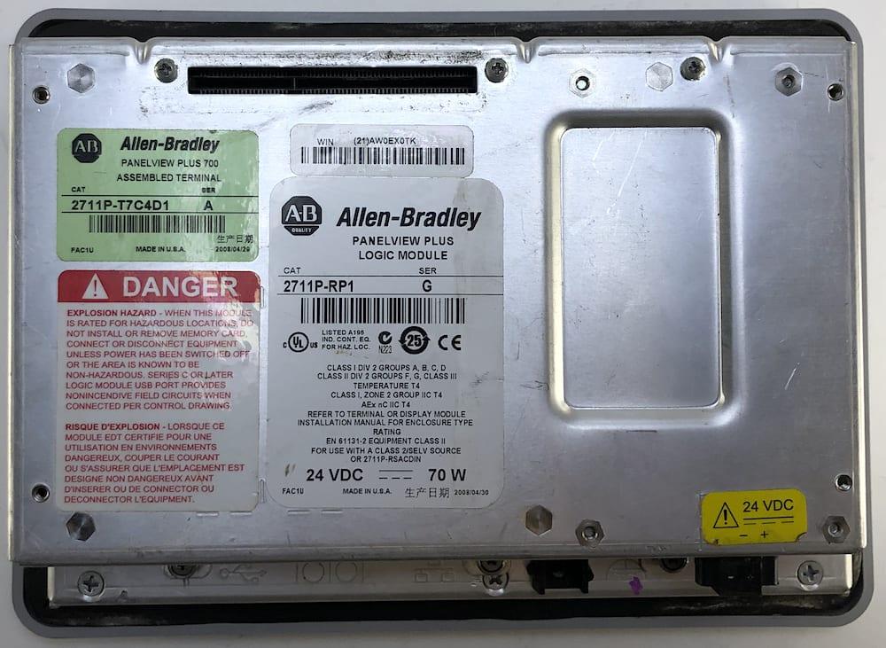 Allen Bradley 2711P-T7C4D1