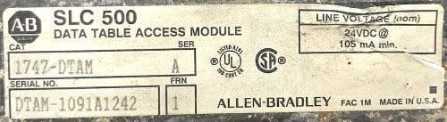 Allen Bradley 1747-DTAM-CABLE