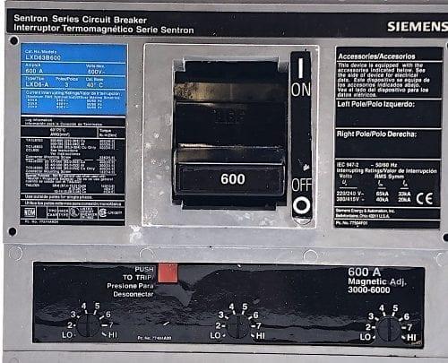 Siemens LXD63B600-600