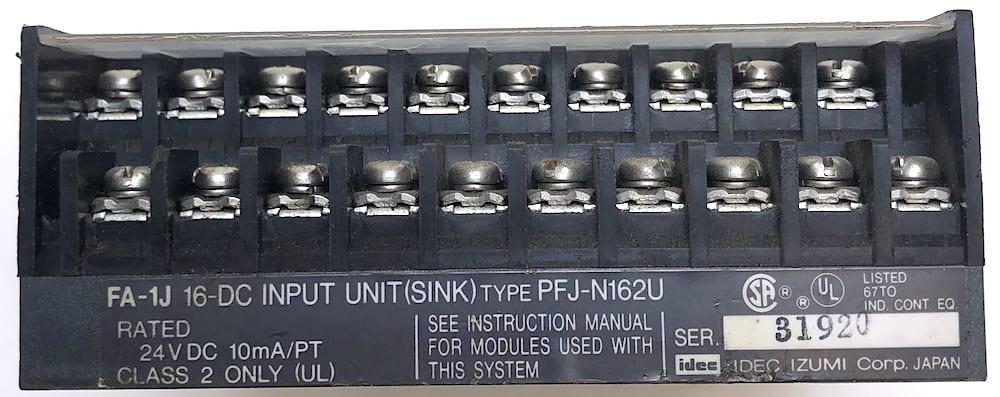 Idec PFJ-N162U