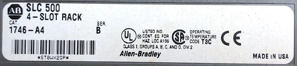 Allen Bradley 1746-P2