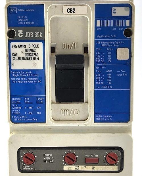 Cutler Hammer JDB3225C-BL