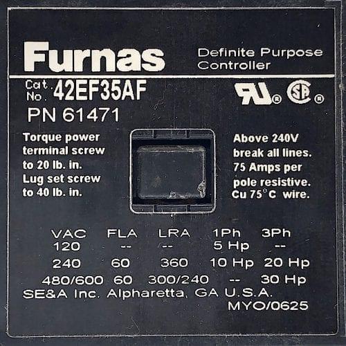 Furnas 42EF35AF