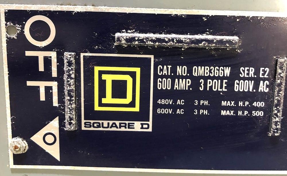 Square D QMB-366W