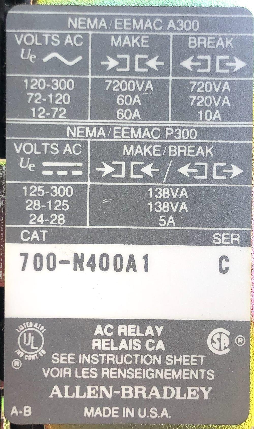Allen Bradley 700-NT