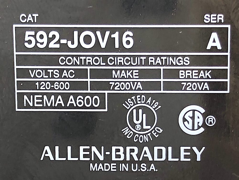 Allen Bradley 505-TOD