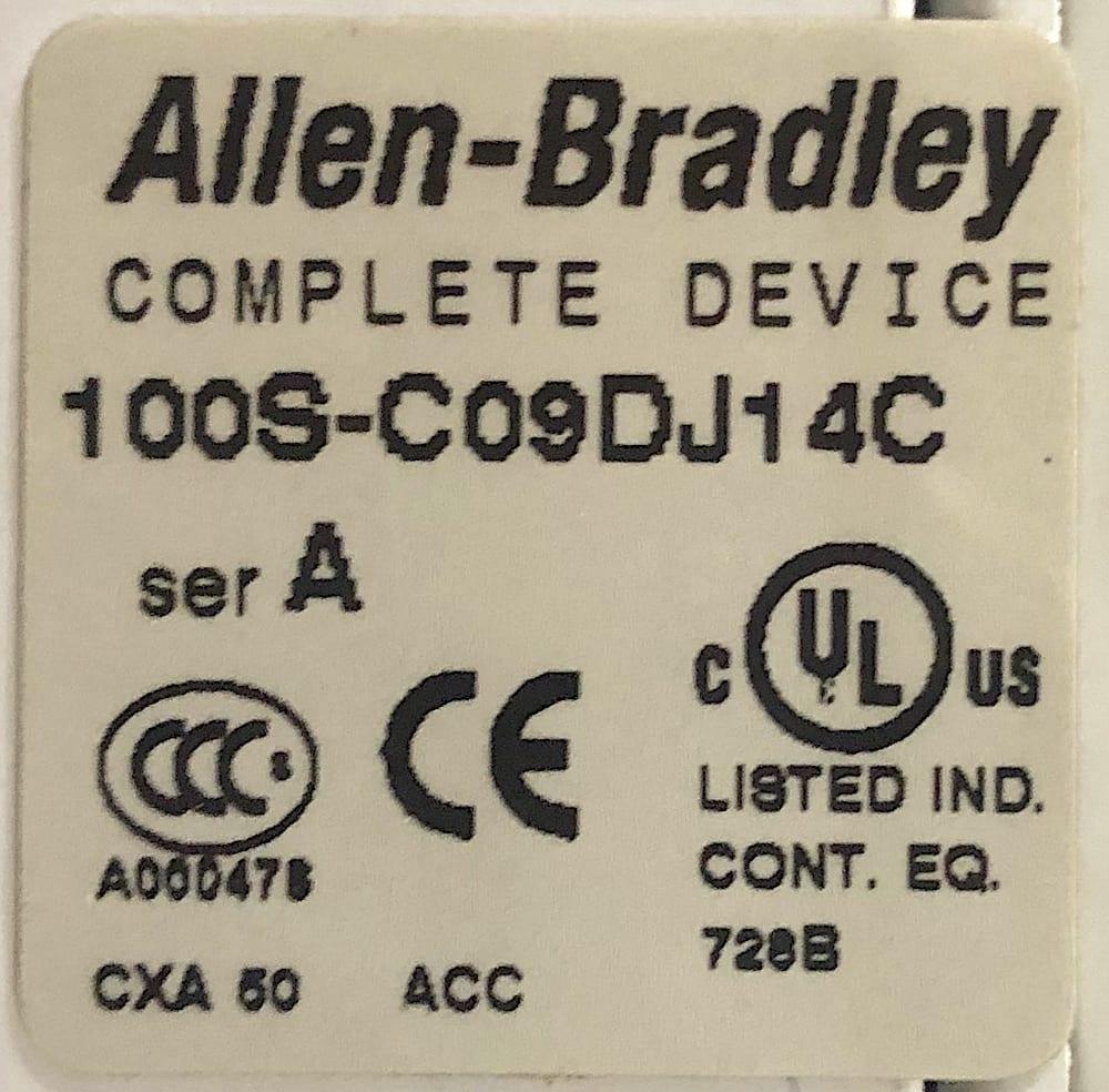Allen Bradley 100S-C09DJ14C